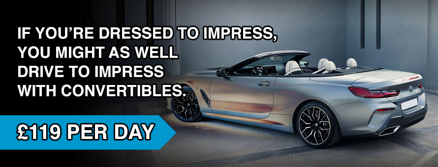 Rent a BMW Convertible in Edinburgh