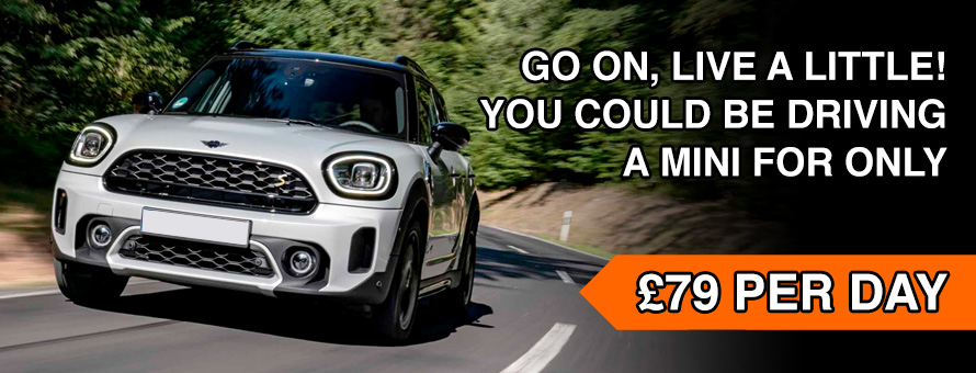 Rent a MINI in Edinburgh